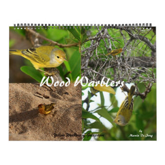 Wood Warbler Photographs Wall Calendars