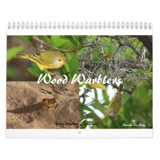 Wood Warblers Calendar