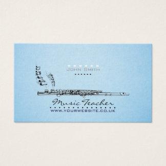 Wood-wind Musician/Music Teacher Business Card v2