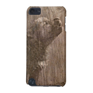 Wood Wolf Pup Art iPod Touch 5G Cases