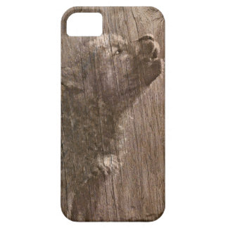 Wood Wolf Pup Art iPhone SE/5/5s Case