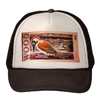 Wood Woodpecker Hat