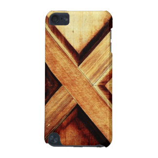 Wood X in Old Shed Wooden Door iPod Touch (5th Generation) Cover