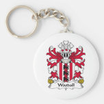 Woodall Family Crest Key Chains