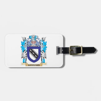 Woodard Coat of Arms - Family Crest Luggage Tag
