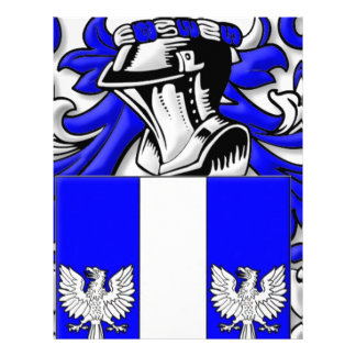 Woodard Coat of Arms Customized Letterhead