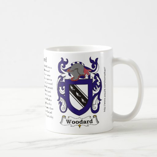 Woodard, the origin and meaning on a mug