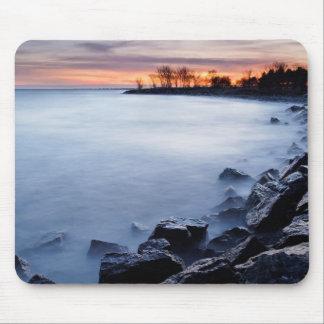 Woodbine Beach Toronto Ontario Canada at Sunrise Mouse Pad