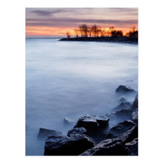 Woodbine Beach Toronto Ontario Canada at Sunrise Postcard