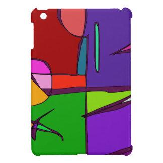 Woodblock Print Simulation iPad Mini Cases