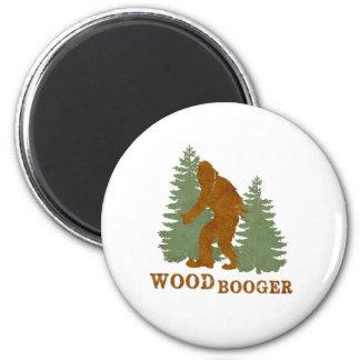 Woodbooger Imán Redondo 5 Cm