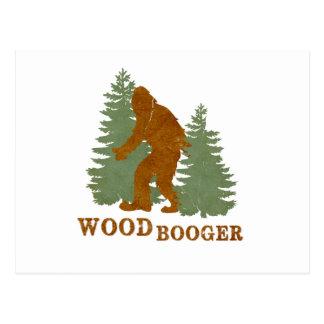 Woodbooger Postcard
