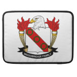 Woodbridge Family Crest Sleeve For MacBook Pro