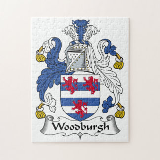 Woodburgh Family Crest Puzzle
