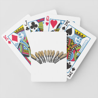 WoodCarvingChisels090615 Bicycle Playing Cards