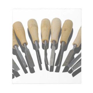 WoodCarvingChisels090615 Bloc De Notas