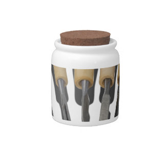 WoodCarvingChisels090615 Candy Jar