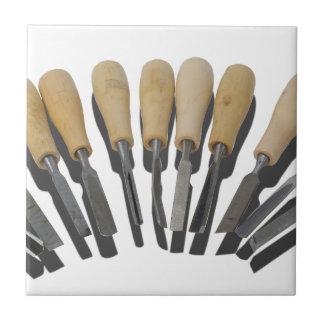 WoodCarvingChisels090615 Ceramic Tile