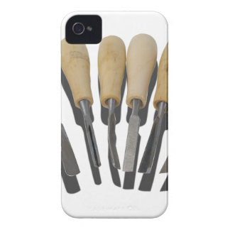 WoodCarvingChisels090615 iPhone 4 Cases