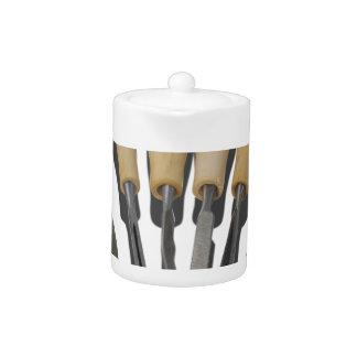 WoodCarvingChisels090615 Teapot