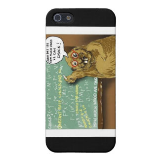 Woodchuck Physics Funny Gifts Mugs & Cards Case For iPhone SE/5/5s