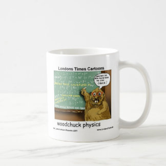 Woodchuck Physics Funny Gifts Tees Mugs & Cards
