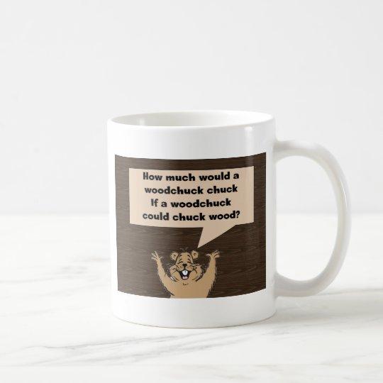 Woodchuck Tongue Twister Coffee Mug