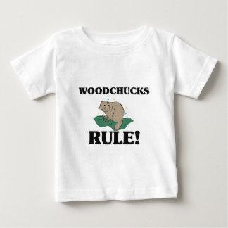 WOODCHUCKS Rule! Baby T-Shirt