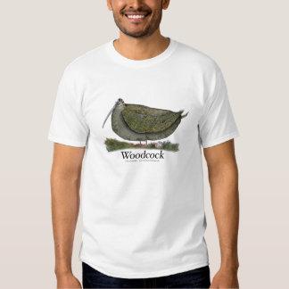 woodcock bird, tony fernandes shirt