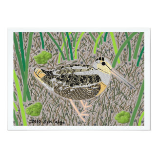 Woodcock Card