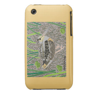 Woodcock iPhone 3 Case-Mate Case