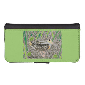 Woodcock iPhone SE/5/5s Wallet