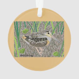 Woodcock Ornament