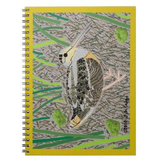 Woodcock Spiral Notebook