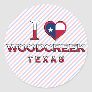 Woodcreek, Texas Sticker