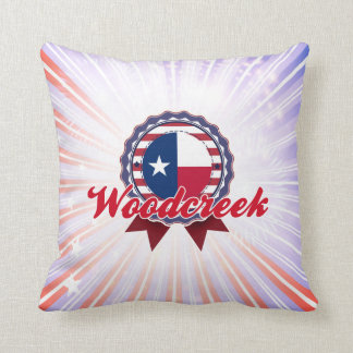 Woodcreek, TX Pillow