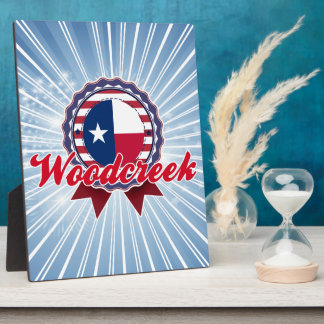 Woodcreek, TX Photo Plaques