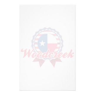 Woodcreek, TX Personalized Stationery