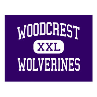 Woodcrest - Wolverines - Junior - Ontario Postcard