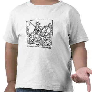 Woodcut of a Knight Shirts