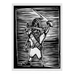 Woodcut Pirate Posters