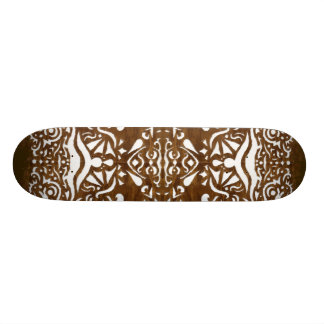 """Woodcut"" Skateboard"
