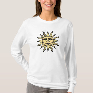 WOODCUT SUN T-Shirt