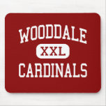 Wooddale - Cardinals - High - Memphis Tennessee Mouse Mat