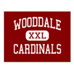 Wooddale - Cardinals - High - Memphis Tennessee Postcard