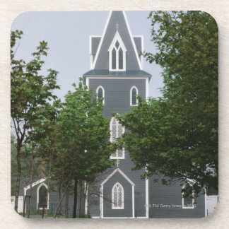 Wooded chapel, Newfoundland, Canada Drink Coaster