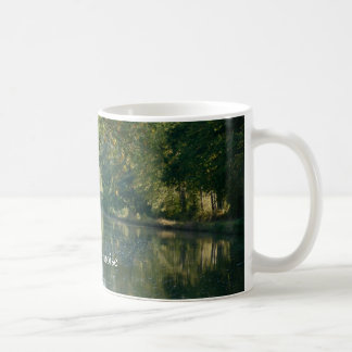 Wooded French canal Classic White Coffee Mug