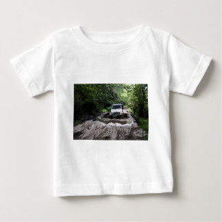 Wooded Jeep Baby T-Shirt