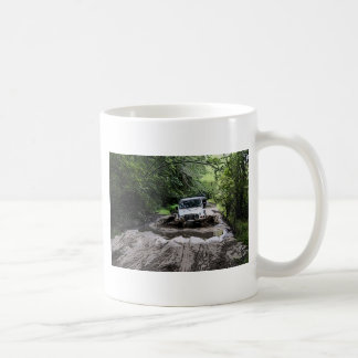 Wooded Jeep Coffee Mug