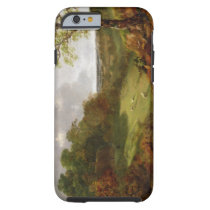 Wooded Landscape with a Cottage, Sheep and a Recli Tough iPhone 6 Case
